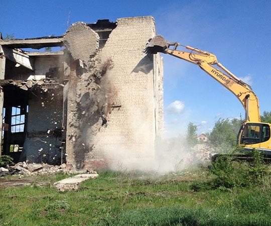 Демонтаж зданий в Тамбове и Тамбовской области